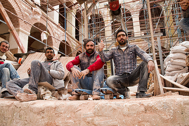 Turkish-Construction-Workers