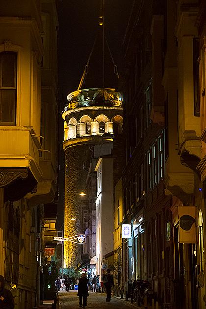 Galata-Tower-At-Night