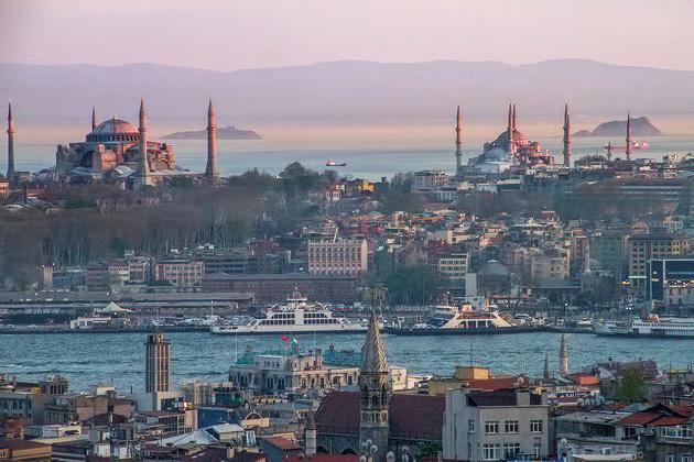Sunset Oldtown Istanbul