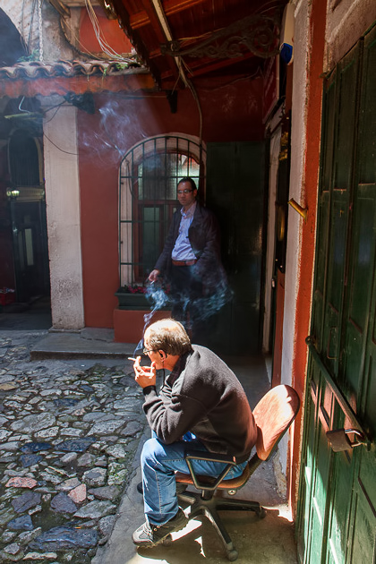 Smoking In Istanbul