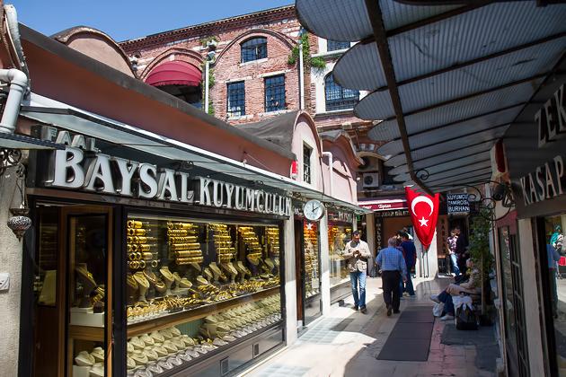 Gold Han Istanbul Grand Bazaar