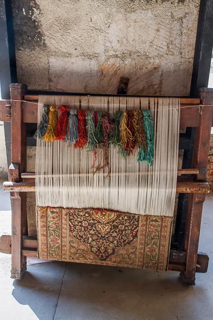 Making a Carpet