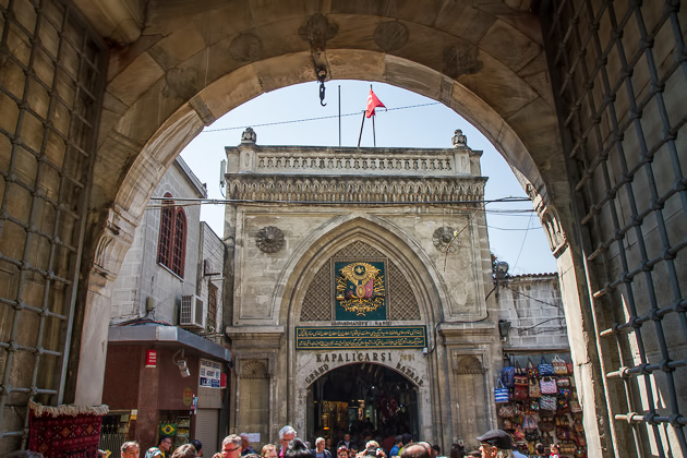 Main Entrance Grand Bazaar