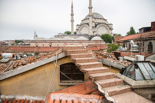 Stairs Grand Bazaar Roof