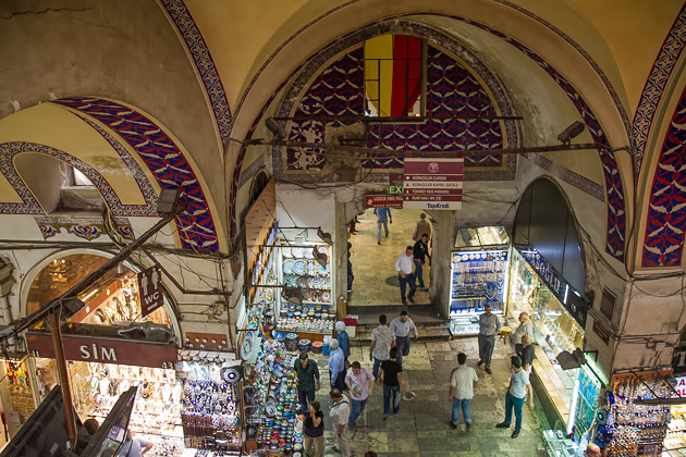 Birds Eye View Grand Bazaar Istanbul