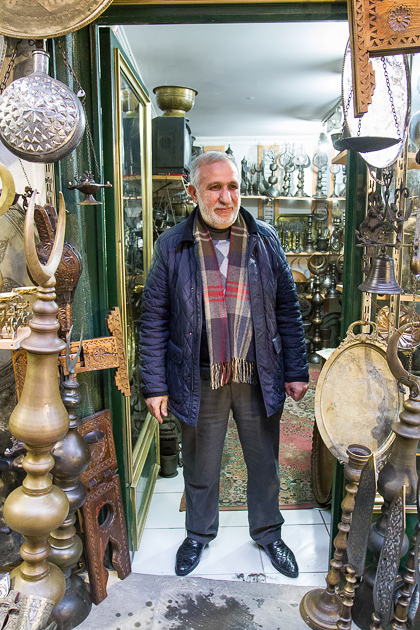 Shop Owner Grand Bazaar Istanbul