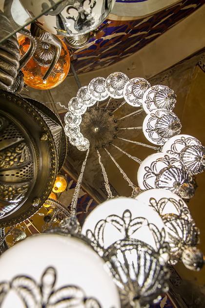 Lamp Spiral Grand Bazaar Istanbul