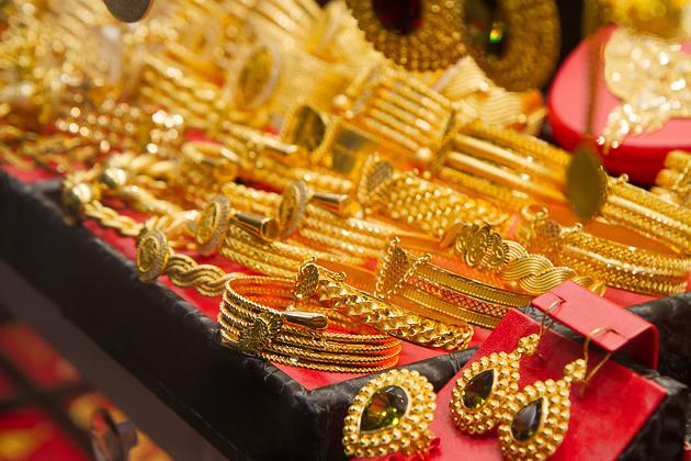 Gold Inside The Grand Bazaar
