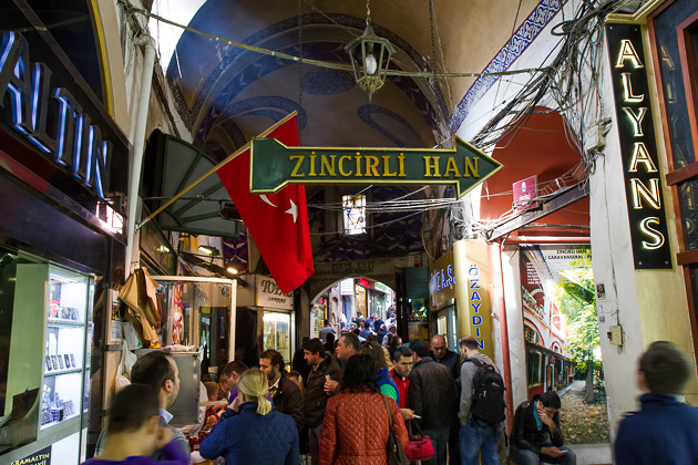 Zincirli Han Istanbul
