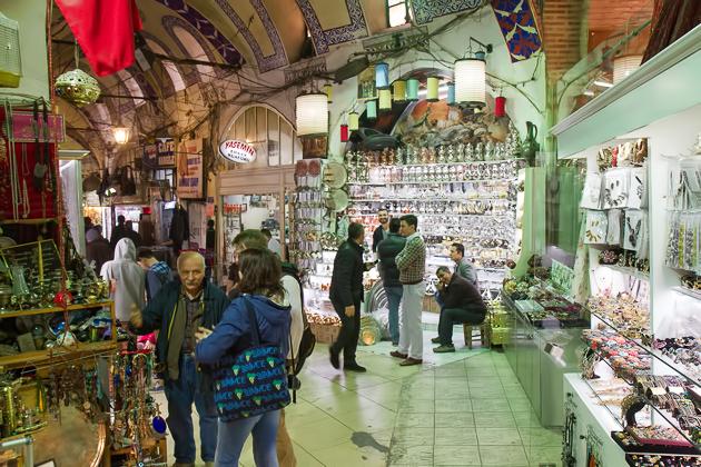 Bargaining Grand Bazaar Istanbul