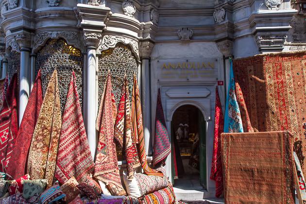 Carpet Store Grand Bazaar Isrtanbul