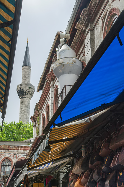 Old and New Minaret Istanbul Grand Bazaar