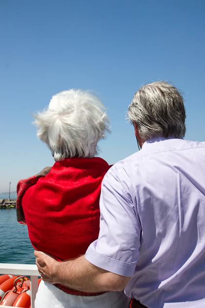 Cruise Ship Older Couple