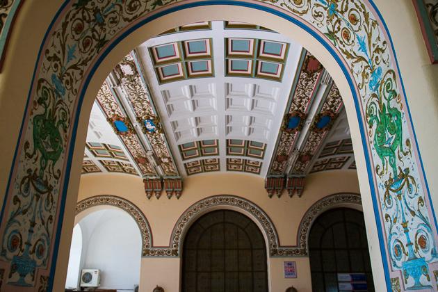 Inside Haydarpaşa