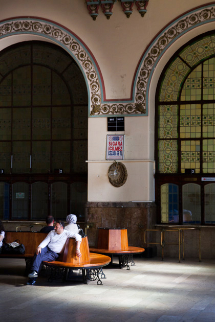 Innen Haydarpaşa Station