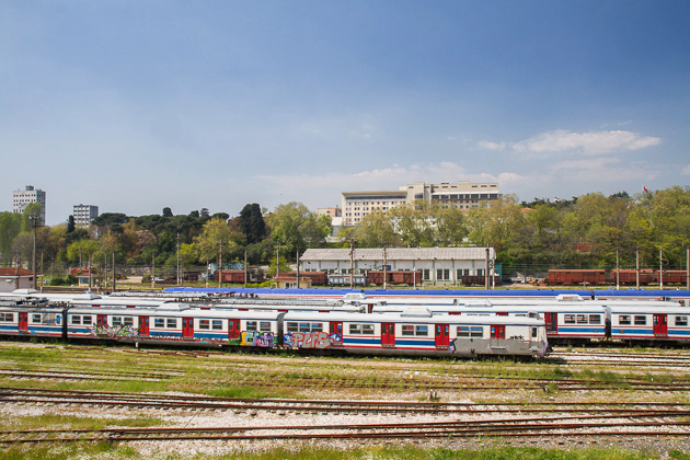 Haydarpaşa Train Tracks