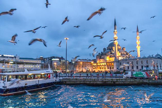 Yeni Camii At Night