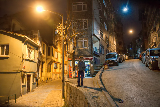 Alone At Night Istanbul