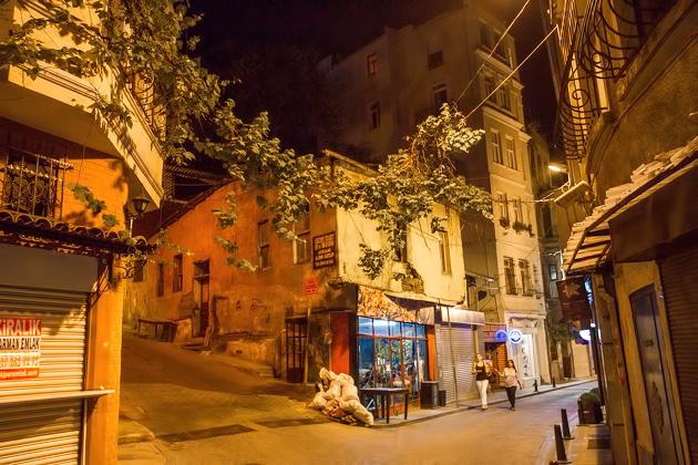 Night Photos Istanbul