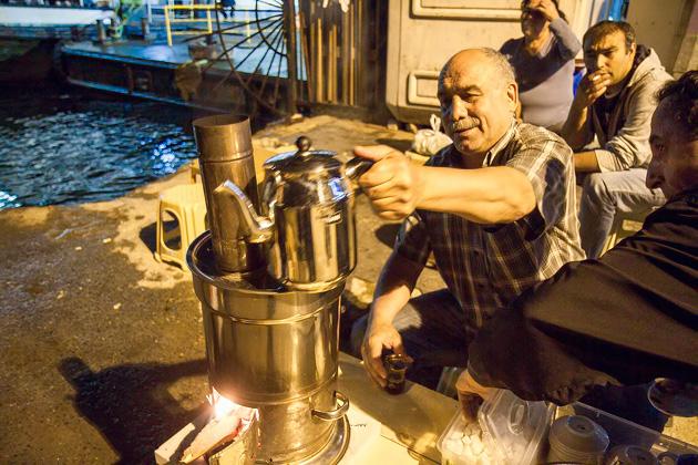 Night Tea In Istanbul