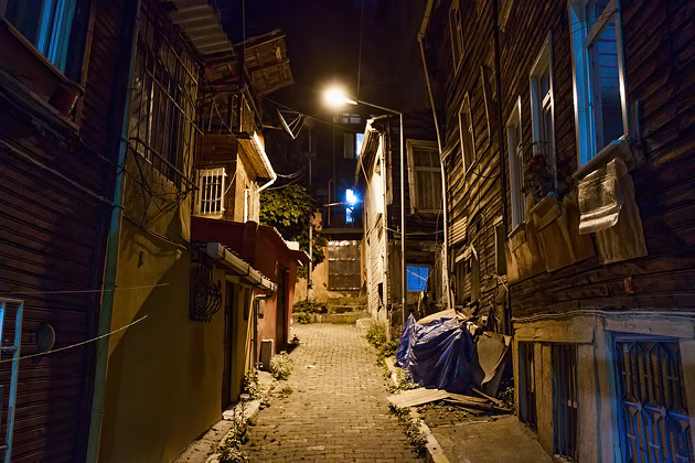 Dark Alley Istanbul