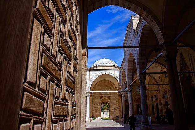 Ottoman-Door