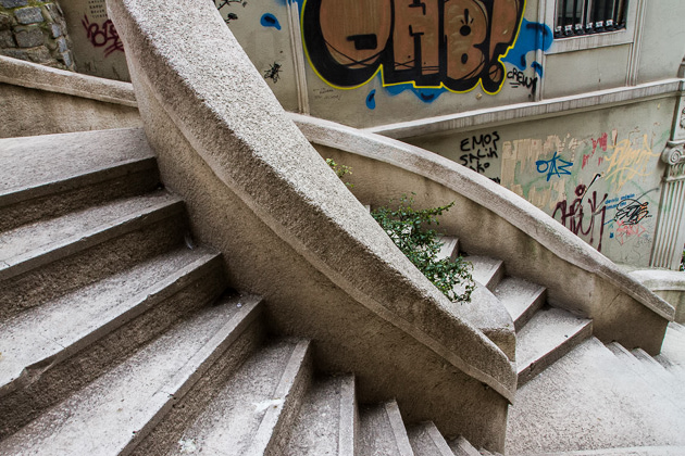 Weird Stairs Istanbul