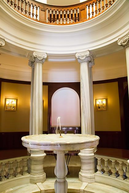 Inside Fountain
