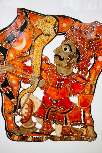 Indian Shadow Puppets