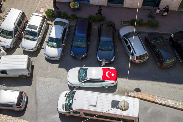Car Flag Turkey
