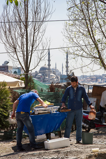 Fish Stand Istanbul