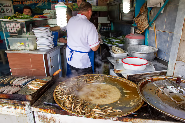 Fried Fish Istanbul