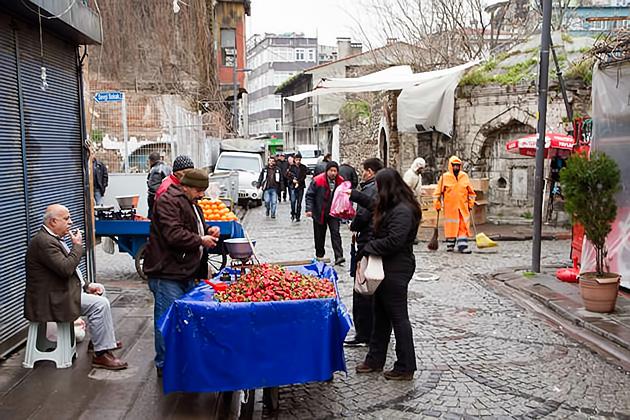 Kumkapi Street Market