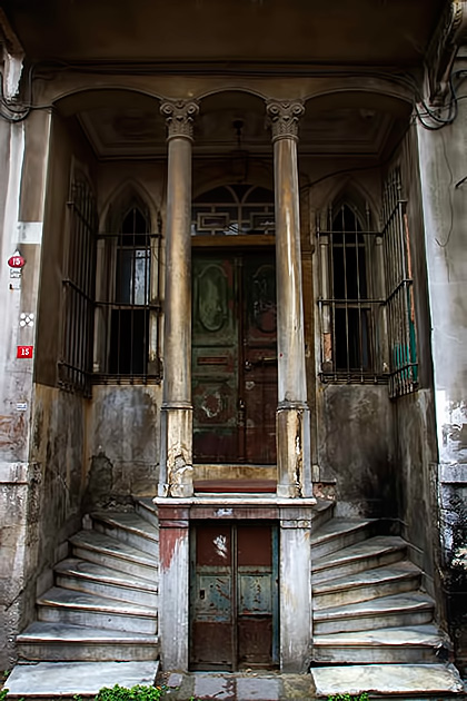 Old Istanbul Stairs