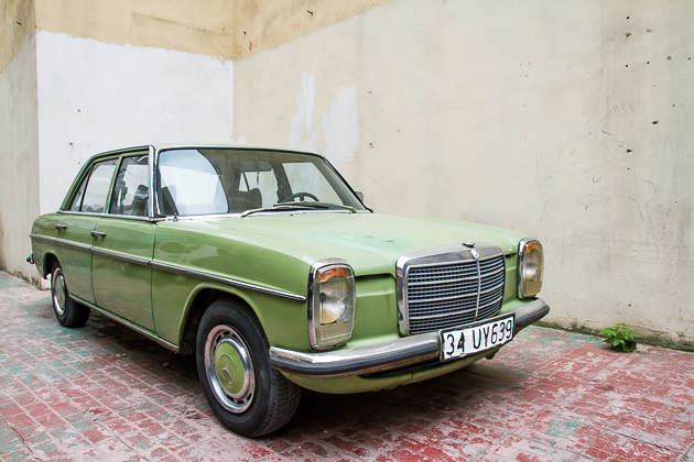 Old Green Mercedes Bursa