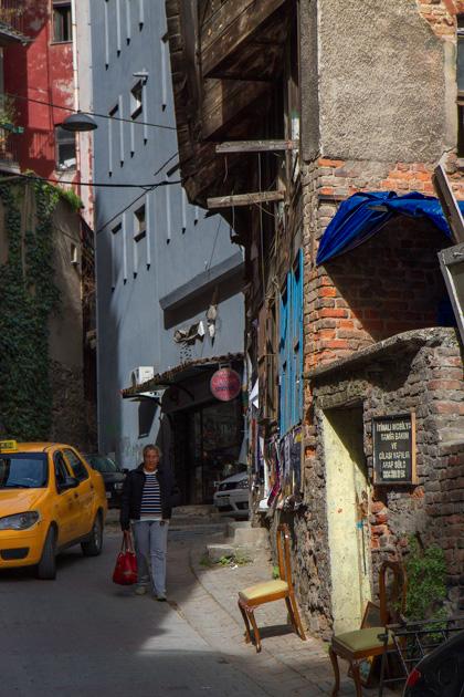 Çukurcuma Istanbul Streets