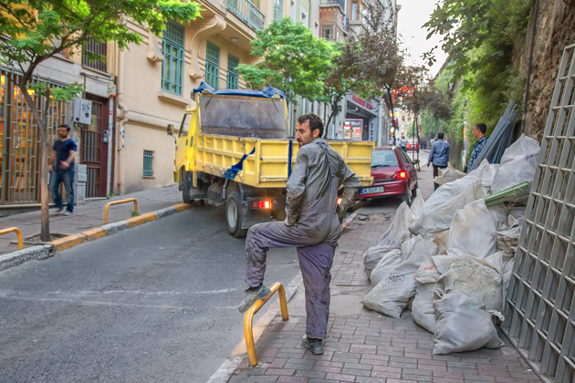 Striking A Pose Istanbul