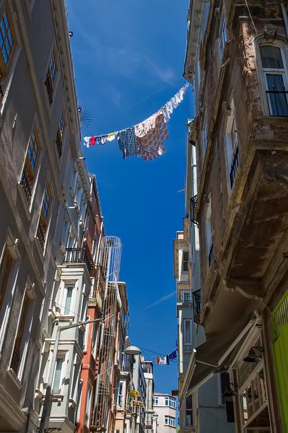 Laundry Hanging Istanbul