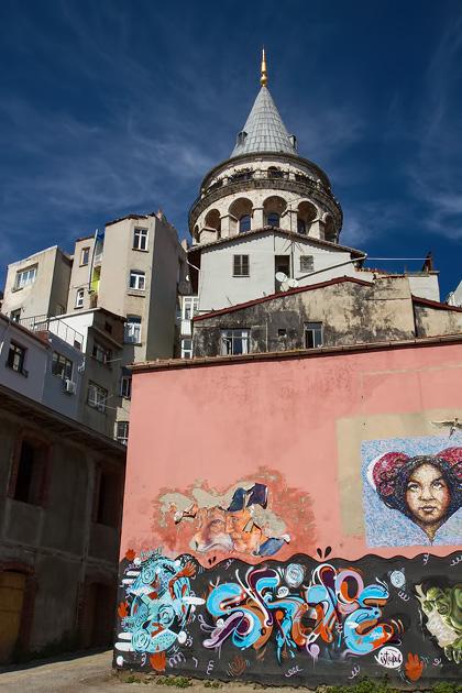 Street Art Galata Istanbul