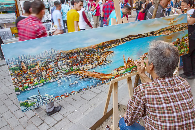 Istanbul Painter