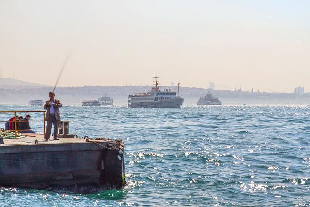 Fishing Istanbul
