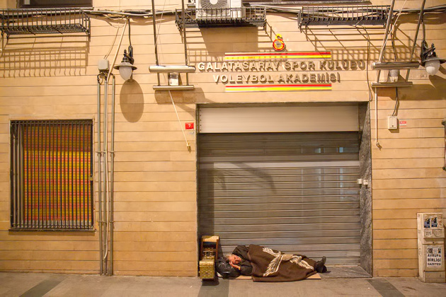 Homeless In Istanbul