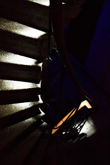 Dark Stairs Istanbul