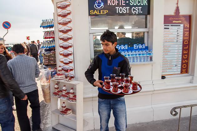 Tea Boy Istanbul