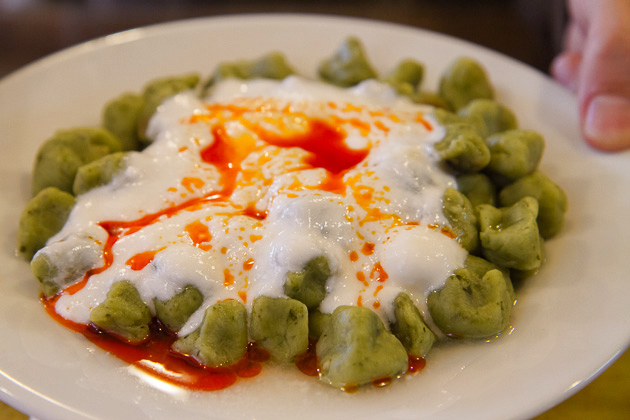 Spinach Manti