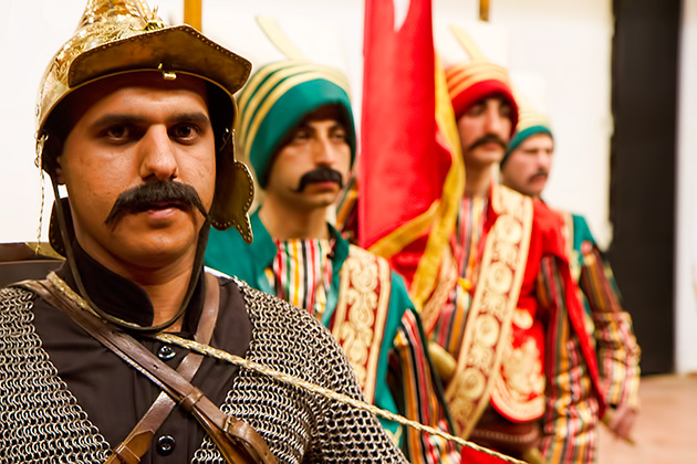 Mustache-Istanbul-Military
