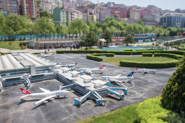 Miniaturk Istanbul Atatürk Airport