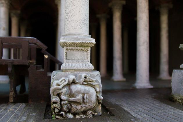 Miniaturk Istanbul Medusa Head