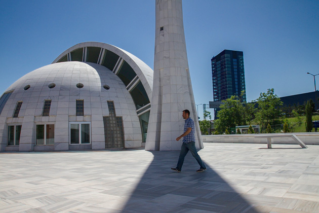 Modern Mosque Istanbul