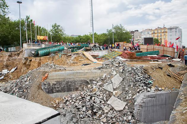 Gezi Park Construction
